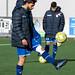 Alvaro Gomez dando toques