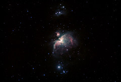 M42 Orion Nebula from Toy's Hill (Tej Dyal) Tags: orion nebula m42 m43 toys hill skywatcher equinox 80 apo celestron nexstar 8se astrometrydotnet:id=nova3893967 astrometrydotnet:status=solved altaz unmod unmodded