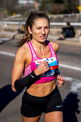 2020 Houston Marathon (burnt dirt) Tags: houston texas marathon half chevron athlete runner fujifilm xt3 50mm f2 fufujinon candid street photography documentary downtown people person outdoor competition race sport eye contact stare
