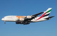 EGLL - Airbus A380 - Emirates - A6-EOV (lynothehammer1978) Tags: egll lhr londonheathrow heathrow heathrowairport emiratesairlines airbusa380 a6eov