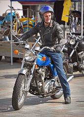 Commando.. (Harleynik Rides Again.) Tags: norton commando biker bike rider madeinengland nikond810 harleynikridesagain
