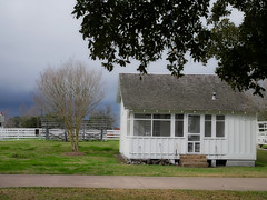 Before storm (irmur) Tags: usa texas ranch houston george storm rain white historic
