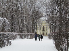 Visit museums! (VERUSHKA4) Tags: europe museum russia canon moscow ville city people three park kuskovo building hiver winter january window fenetre balcony door day path way walk astoundingimage