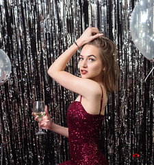 KB Studio New Year Shoot (DreyerPictures (16 million views - Thank You!)) Tags: captiolcityshooters gh5 indoor lumix m43 m43ftw microfourthirds mirrorless newyear panasonic colorful dreyerpicturescom female glamour party portrait young
