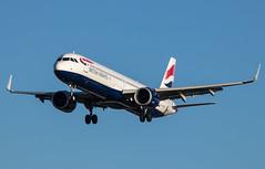 EGLL - Airbus A321 - British Airway - G-NEOX (lynothehammer1978) Tags: egll lhr heathrowairport heathrow londonheathrow britishairways gneox airbusa321 ba