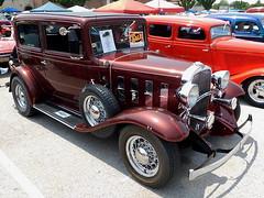 1932 Chevy Confederate Sedan (splattergraphics) Tags: 1932 chevy confederate sedan hotrod customcar carshow nsra streetrodnationalseast yorkexpocenter yorkpa