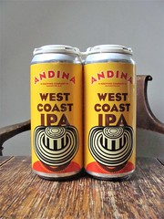 Andina West Coast IPA (knightbefore_99) Tags: beer cerveza pivo can dos two pair hops malt local craft ipa india pale ale monita west coast amarillo mosaic yellow awesome