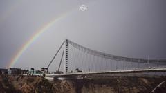 Dramatik Rainbows - 4/52 (Sr.Ivan) Tags: rainbows filmstyle elche visitelche elx costablanca bridge streetphotography paisaje spain city canon canoneosm50 eos m50 eosm50 mirrorless weather clouds cloudy rainyday
