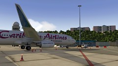 b738 - 2020-01-20 20.31.22 (Rell Brown) Tags: xplane xp11 caribbean princess juliana 737ng 737800 737 boeing laminarresearch americanairlines transworld airlines luufthansa