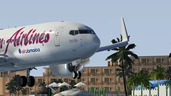 b738 - 2020-01-20 19.57.13 (Rell Brown) Tags: xplane xp11 caribbean princess juliana 737ng 737800 737 boeing laminarresearch americanairlines transworld airlines luufthansa