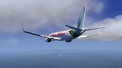 b738 - 2020-01-20 19.46.24 (Rell Brown) Tags: xplane xp11 caribbean princess juliana 737ng 737800 737 boeing laminarresearch americanairlines transworld airlines luufthansa