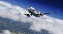 b738 - 2020-01-20 17.07.15 (Rell Brown) Tags: princess caribbean juliana xplane xp11 boeing airlines americanairlines 737 737800 transworld 737ng luufthansa laminarresearch