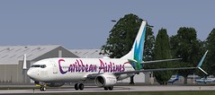 b738 - 2020-01-18 14.32.31 (Rell Brown) Tags: xplane xp11 caribbean princess juliana 737ng 737800 737 boeing laminarresearch americanairlines transworld airlines luufthansa