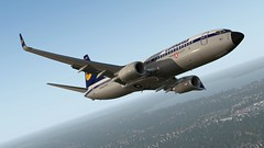 b738 - 2020-01-13 8.37.38 PM (Rell Brown) Tags: xplane xp11 caribbean princess juliana 737ng 737800 737 boeing laminarresearch americanairlines transworld airlines luufthansa