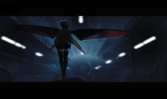 Echo (.Chloe.) Tags: second life cyberpunk futuristic mesh insilico