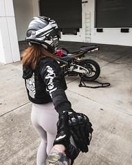 DSC_4956 (Steven Lenoir) Tags: model photoshoot modeling biker cbr cbr600rr hondacbr600rr hondacbr hondamotorsports racing905 hondapowersports stuntcage bikelife hellsent hellsentus