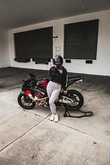 DSC_4965 (Steven Lenoir) Tags: cbr cbr600rr hondacbr600rr hondacbr hondamotorsports hondapowersports racing905 stuntcage model modeling photoshoot biker bikelife hellsent hellsentus