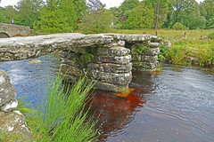 D22161  Clapper Bridge (Ron Fisher) Tags: bridge brücke pont clapperbridge postbridge dartmoor devon southdevon westcountry westofengland england greatbritain unitedkingdom gb uk britishisles europe europa river fluss wales eau wasser panasonic panasoniclumixfz1000 lumix fz1000