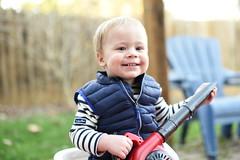Backyard fun (whateyesee13) Tags: peyton peytonjames backyard home fun child son boy kid winter nikon nikond750 50mm 50mmf14 nikkor50mmf14