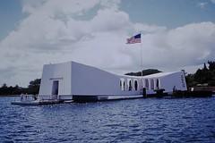 Found Photo - USS Arizona Memorial - Pearl Harbor, Hawaii (Mark 2400) Tags: found photo uss arizona memorial pearl harbor hawaii