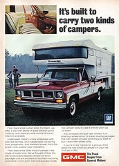 1974 GMC Camper Pickup Truck USA Original Magazine Advertisement (Darren Marlow) Tags: 1 4 7 9 19 74 1974 g m c gm gmc general motors camper p pick u up t truck car cool collectible collectors classic a automobile v vehicle us usa united s states american america 70s
