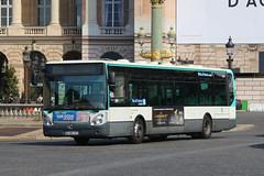 AG-687-XF, Place De La Concorde, Paris, September 14th 2019 (Southsea_Matt) Tags: route45 paris france september autumn 2019 canon 80d sigma 1850mm bus omnibus transport vehicle ratp garedunord placedelaconcorde irisbus citelis ag687xf 3724