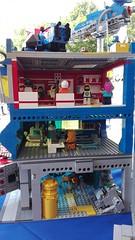 Lego space base (dyazy) Tags: lego space base pizzeria lunar spaceclassic gasstation