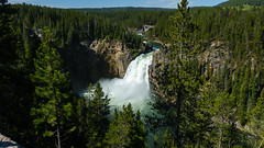 Upper Yellowstone Falls (Curtis Lannom) Tags: nationalpark vacation wyoming yellowstone nps teton nature