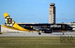 N632JB (Glen Novitsky) Tags: kfll jetblue b6 airbus 320 canon 6d full frame special paint bear force one