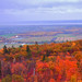 Memories of my first fall in Canada. Views in Gatineau Park