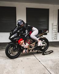 DSC_4912 (Steven Lenoir) Tags: cbr cbr600rr hondacbr600rr hondacbr hondamotorsports hondapowersports racing905 stuntcage model modeling photoshoot biker bikelife hellsent hellsentus