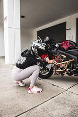 DSC_4921 (Steven Lenoir) Tags: cbr cbr600rr hondacbr600rr hondacbr hondamotorsports hondapowersports racing905 stuntcage model modeling photoshoot biker bikelife hellsent hellsentus