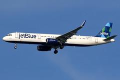 jetBlue Airways | Airbus A321-200 | N968JT | San Francisco International (Dennis HKG) Tags: aircraft airplane airport plane planespotting canon 7d 100400 sanfrancisco ksfo sfo n968jt jetblueairways jetblue jbu b6 airbus a321 airbusa321 sharklets