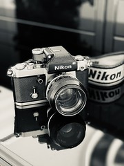 All time favourite: Nikon F2 (The Elephant's Tales Photography) Tags: iphoneography iphoneonly cameraporn nikonf2