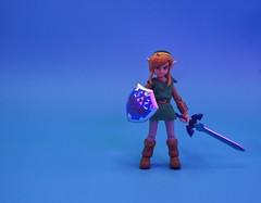 Link 1 (imprimis5) Tags: actionfigure toyphotography link legend zelda figma between worlds master sword