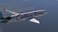 b738 - 2020-01-18 14.54.01 (Rell Brown) Tags: xplane xp11 caribbean princess juliana 737ng 737800 737 boeing laminarresearch americanairlines transworld airlines luufthansa