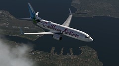 b738 - 2020-01-18 14.52.37 (Rell Brown) Tags: xplane xp11 caribbean princess juliana 737ng 737800 737 boeing laminarresearch americanairlines transworld airlines luufthansa