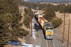 UP 8326 USAFA 4 Jan 20 (AK Ween) Tags: up up8326 unionpacific emd sd70ace usafa airforceacademy colorado jointline mnypu northyard pueblo train railroad