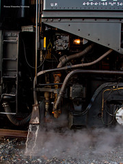 UP #4014 - Cab Detail (tim_1522) Tags: railroad railfanning rail ar arkansas vanburen wagoner sub subdivision unionpacific up steam special passenger bigboy articulated 4884 4014 thegreatraceacrossthesouthwest