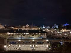 Tokyo Disney Land Night (touhenboku) Tags: tokyo disney tdr tds tdl land resort line train