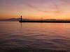 Thessaloniki - port sunset, breakwater Mt Olympus (5)