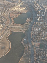 Meadow Lake & Willow Lake (edenpictures) Tags: flushingmeadows lakes queens newyorkcity nyc park aerial airplane