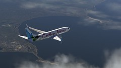 b738 - 2020-01-18 14.52.11 (Rell Brown) Tags: xplane xp11 caribbean princess juliana 737ng 737800 737 boeing laminarresearch americanairlines transworld airlines luufthansa