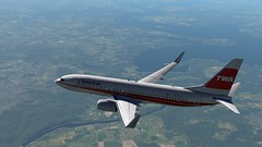 b738 - 2020-01-15 20.18.19 (Rell Brown) Tags: xplane xp11 caribbean princess juliana 737ng 737800 737 boeing laminarresearch americanairlines transworld airlines luufthansa