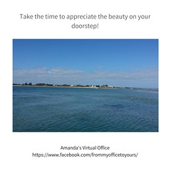 Take the time to appreciate the beauty on your doorstep (amandasvirtualoffice) Tags: amandas virtual office rockingham beaches ocean calm