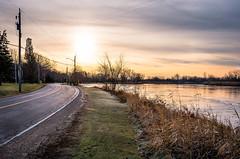 The Winding Road (Neil Cornwall) Tags: 2019 canada december ontario rivercanard fall sunrise