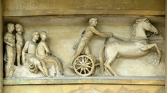 Frieze at Ickworth House (detail) (Snapshooter46) Tags: ickworthhouse suffolk rotunda frieze nationaltrust highrelief classicalfigures chariot charioteer