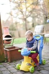 The world is your playground (whateyesee13) Tags: backyard toy boy kid child son peyton peytonjames nikon nikond750 home dof 50mm nikkor50mmf14