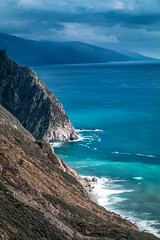 Blue Sur (Kirk Lougheed) Tags: bigsur california santaluciamountains usa unitedstates cloud coast landscape mountain ocean outdoor pacific pacificocean sea seascape shore shoreline sky water