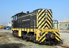 23, San Francisco, 8 Nov 2019 (Mr Joseph Bloggs) Tags: san francisco bay railroad railway zug vlak bahn train treno usa united states america california alco 23 s2 sbrr belt